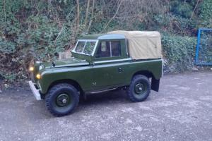 Series 2 Land Rover 1962