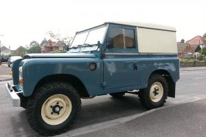 "1982 LAND ROVER 88"" - 4 CYL BLUE"
