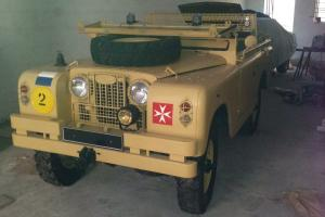 Military Land rover series 2a