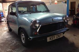 1983 AUSTIN MINI MAYFAIR BLUE