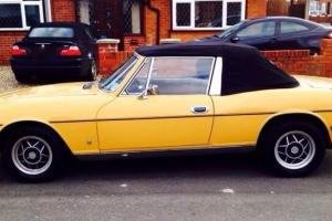 TRIUMPH STAG 1972 3.5L V8 MOT'D YELLOW EXCELLENT ENGINE