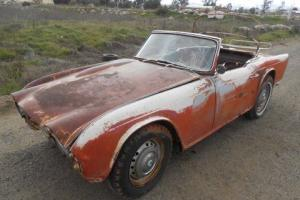 1964 Triumph TR4 For Restoration Photo