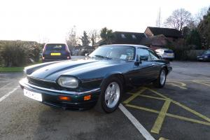1995 JAGUAR XJ-S 4.0 AUTO KINGFISHER BLUE FULL HISTORY JUST SERVICED