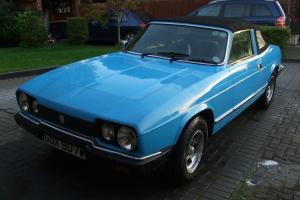 1980 RELIANT SCIMITAR GTC BLUE