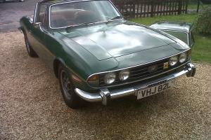 TRIUMPH STAG AUTO GREEN  Photo