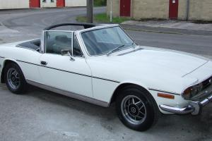 Triumph Stag 1974 White - automatic petrol convertible - Superb Condition  Photo