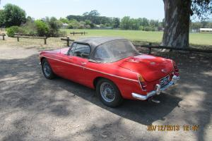 MG MGB Roaster 1965 RED Convertable in Whittlesea, VIC Photo