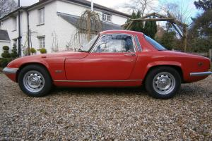 LOTUS ELAN S4 SE FHC 1971 'J' * MOT'D * NEEDS A LITTLE TLC * GOOD VALUE