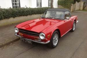 1971 Triumph TR6.SIMON COWELLS TR6, yes HONESTLY the SIMON COWELL. Fully restord Photo