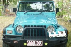 Jeep Wrangler Sport 4x4 1997 2D Softtop 5 SP Manual 4x4 4L in Macleay Island, QLD