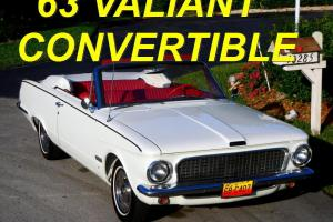 Plymouth : Other VALIANT CONVERTIBLE