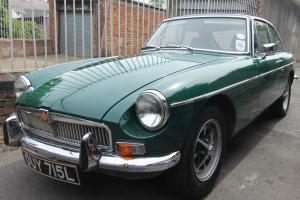 MGB GT , 1972 TAX EXEMPT , IN BRITISH RACING GREEN