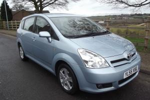 2006/55 TOYOTA COROLLA VERSO 1.8 T3 L@@K 46,000 MILES 7 SEATS SUPERB PART EX??