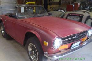 Triumph : TR-6 2 Door Photo