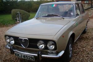 Alfa Romeo 2000 Berlina Rust free Original RHD 1973 Tax-exempt this year