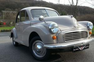 Morris Minor Split screen saloon, fully refurbished outstanding quality car