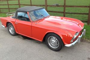 1962 LHD Triumph TR4 Photo