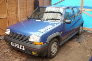 renault 5 gt turbo 1987 all original no modifications one owner from new