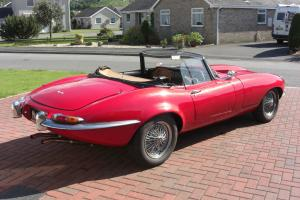 E-Type Jaguar Kit Car Soft Top - Pillar Box Red - Great Fun - SORN  Photo