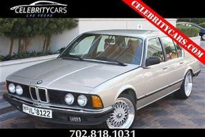 1987 BMW 735i Sedan (E23) Very Well Maintained Las Vegas Trades Welcome