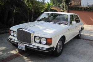 1989 Bentley Eight, Ivory White Exterior & Interior with Burgandy Trim