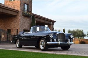 1960 Bentley S2 Continental DHC Stunningly restored with history and provenance
