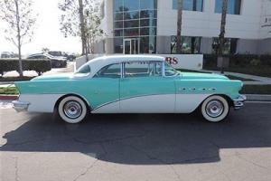 1956 Buick Super Coupe / Teal and White / Original / Great - Fun Car to Cruise