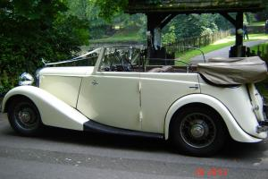 SPECTACULAR 1934 ROYAL DAIMLER CONVERTIBLE