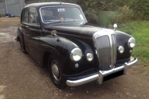 1954 Daimler Conquest in Black with Blue Leather not Century Jaguar Rolls Royce Photo