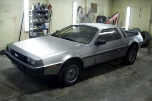 1981 DELOREAN DMC-12  CAR Back to the future car parts car