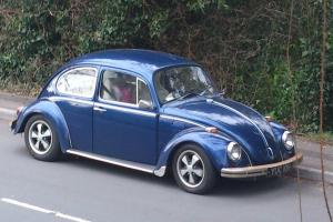 VW Beetle, 1300 Twinport, Fuchs Alloys, IRS, Lowered, New interior, 40000miles
