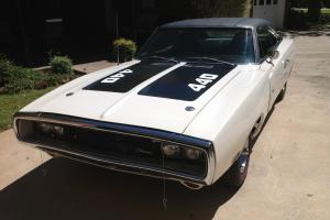 1970 White Charger! PS, PB. PW. AC , Restored, Magnum 440, Tons of Documentation