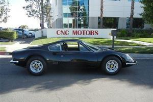 1971 Ferrari 246GT / 246 GT Dino / Fully Restored / Nero on Nero / #'s Matching
