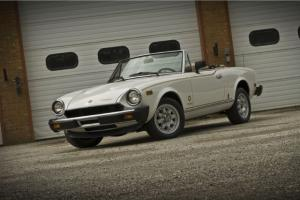 fiat spider turbo 40K miles very rare stunning restoration May 2014 delivery