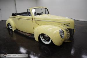 1940 Ford Deluxe Convertible Custom Air Ride LS Engine MUST SEE!!!