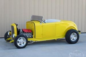 1932 FORD ROADSTER BROOKVILLE ALL STEEL LS1 AUTO 955 MILES