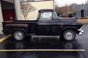 1957 GMC 1/2 TON PICKUP--ORIGINAL--V8--4 SPD--RUNS GREAT--SOLID