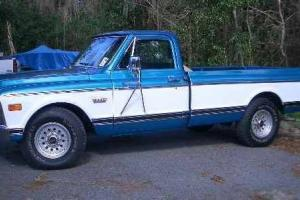 CLASSIC GMC 2500 PICKUP-BIG BLOCK-VINTAGE-MUSCLE-TRUCK-CHEVROLET-SHOW & DRIVE!