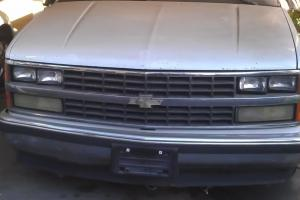 1989 CHEVY PICK UP TRUCK WHITE RUNNING GMC SILVERADO 350 V8