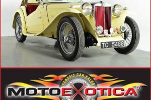 1949 MG TC , FULL RESTORATION , NUMBERS MATCHING, INVESTMENT GRADE, LQQK !!!!!!