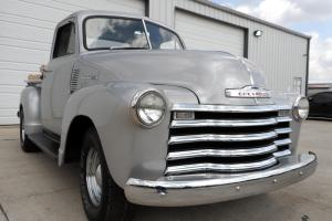 1951 ROTTISERIE RESTORED CHEVY 3100 SHORTBED. NUMBERS MATCHING