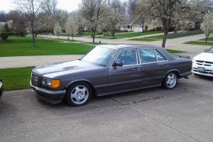 1982 EUROPEAN  MODEL -- MERCEDES BENZ 500 -- VIN NUMBERS DO NOT MATCH US VIN
