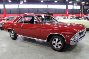 66 Malibu SS 396 Matching Numbers Every Nut and Bolt Restored Rare Documented