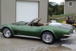 1973 CORVETTE CONVERTIBLE. MATCHING NUMBERS. 41 YEAR OLD CLASSIC CAR