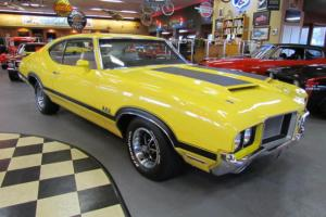 1972 Oldsmobile 442 Ram Air 455 TH400 AC Numbers Matching, Photo