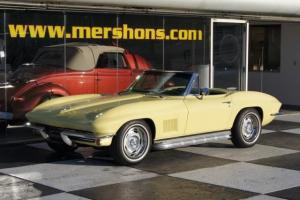 1967 Corvette Convertible Matching Numbers 4 Speed