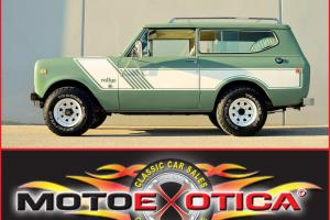 1975 INTERNATIONAL SCOUT II RALLYE - 22K ORIGINAL MILES! - COMPLETELY ORIGINAL!
