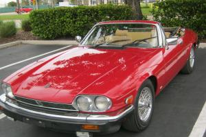 1987 JAGUAR XJS V12 CONVERTIBLE Photo