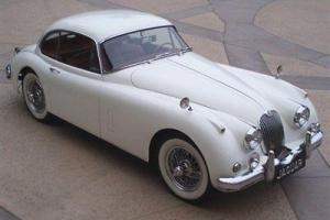 1959 JAGUAR XK 150 RARE CLASSIC FIXED HEAD COUPE SHOWSTOPPER WHITE&RED FANTASTIC