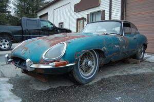 1964 Jaguar XKE Series 1  Coupe needs total restoration